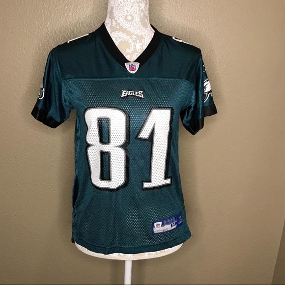 super popular 47a9f 4c56e NFL Eagles Terrell Owens Jersey #81 M